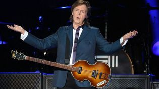 Paul McCartney sur scène à Sao Paulo en novembre 2014  (DANIEL TEIXEIRA / ESTADAO CONTEUDO / Agência Estado)