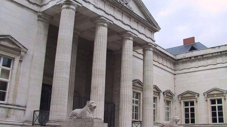 Photo d'illustration. Palais de justice d'Orléans. (MARIE BELHOMME / MAXPPP)