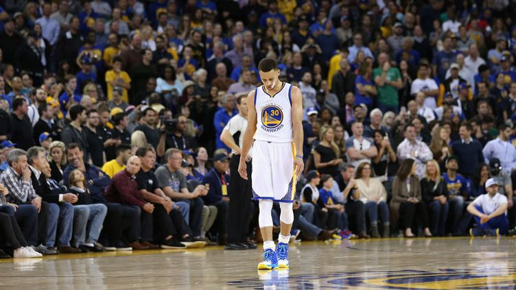 La star des Warriors, Stephen Curry