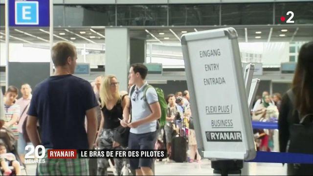 """Ryanair : les pilotes en grève contre des conditions de travail """"indignes"""""""