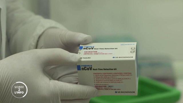 """Soirée de l'info. Tests de dépistage du coronavirus : la Corée du Sud serait """"capable de fournir la moitié de la demande internationale"""""""