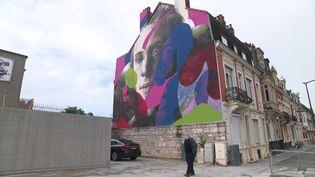 Calais se pare de mille-et-une couleur pendant son Street Art Festival. (France 3 Nord)
