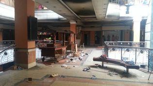 Le centre commercial Westgate de Nairobi (Kenya), le 30 septembre 2013. (CHINE NOUVELLE / SIPA)