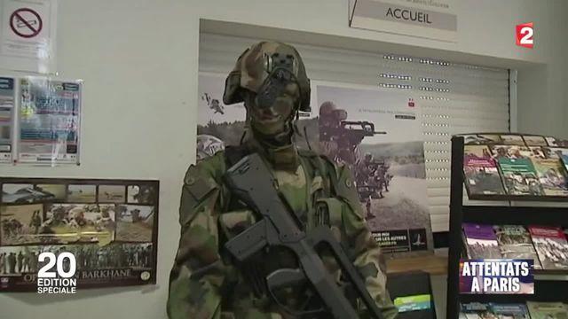 Attentats à Paris : les candidatures dans l'armée explosent