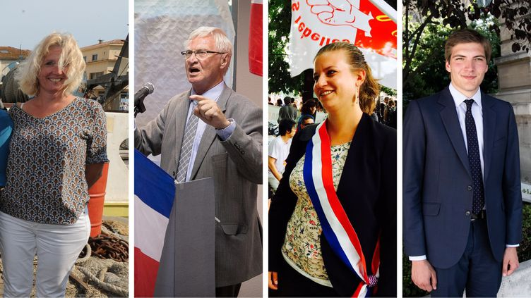 Franceinfo a suivi quatre nouveaux députés lors de leur rentrée à l'Assemblée nationale, mardi 27 juin :Annie Chapelier (LREM),José Evrard (FN), Mathilde Panot (La France insoumise) etRobin Reda (LR). (SYLVAIN THOMAS / AFP / MAXPPP / MATTHIEU MONDOLONI / FRANCEINFO)