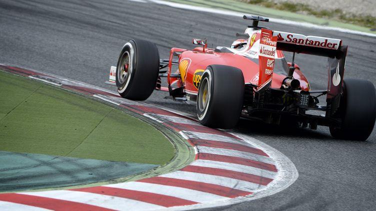 La Ferrari de Kimi Räikkönen (ERIC VARGIOLU / E.V.A.)