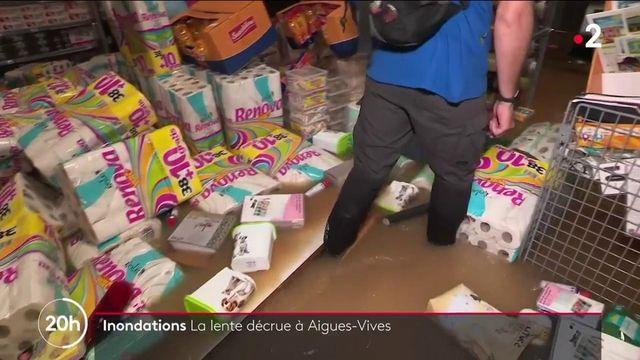 Inondations : de lourds dégâts dans le Gard et l'Hérault