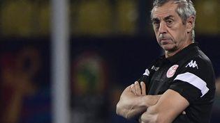 L'ancien directeur sportif des Girondins de Bordeaux Alain Giresse. (JAVIER SORIANO / AFP)
