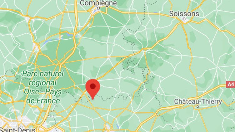 Un avion de tourisme s'est écrasé sur la commune de Saint-Pathus (Seine-et-Marne), dimanche 18 avril 2021. (GOOGLE MAPS)