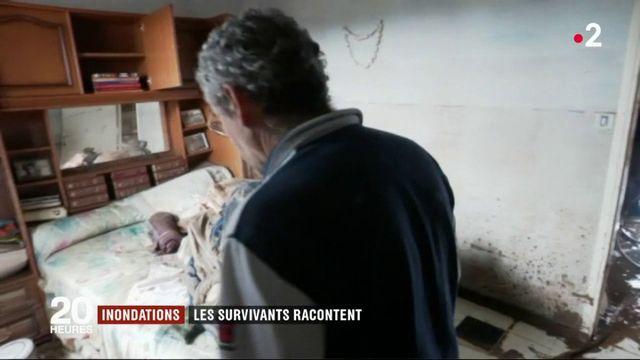 Inondations : les survivants racontent