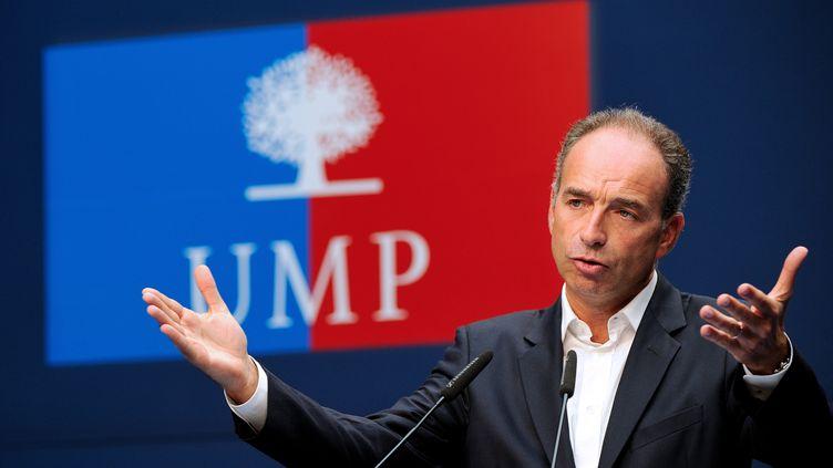 Le président de l'UMP, Jean-François Copé, le 8 septembre 2013, au Touquet-Paris-Plage (Pas-de-Calais). (PHILIPPE HUGUEN / AFP)