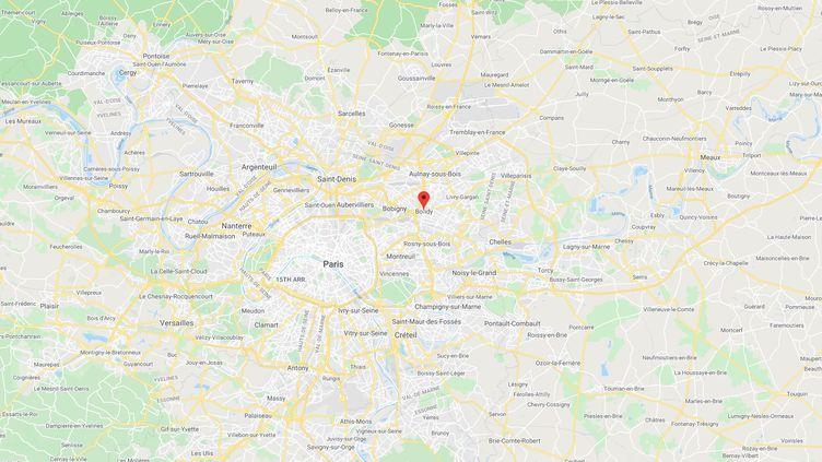Bondy (Seine-Saint-Denis). (CAPTURE GOOGLE MAPS)