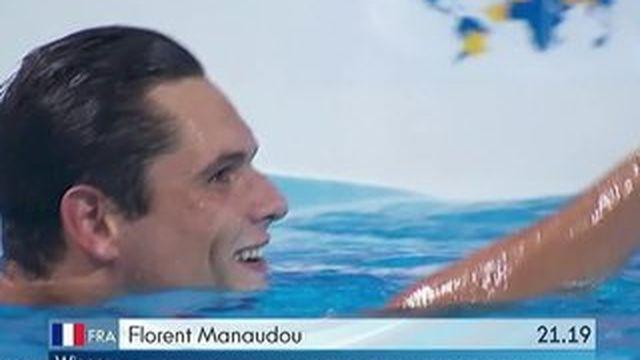 Mondiaux de natation : le grand chelem de Florent Manadou