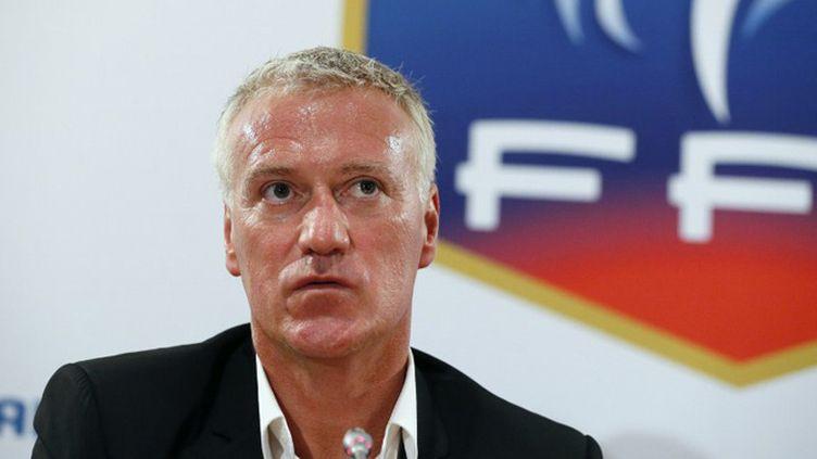 Didiier Deschamps sera à la tête d'un staff restreint (PATRICK KOVARIK / AFP)
