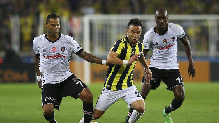 Mathieu Valbuena a joué son premier derby sous les couleurs de Fenerbahçe. (EMRAH YORULMAZ / ANADOLU AGENCY)