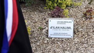 Laplaque en mémoire d'Ilan Halimi, à Bagneux (Hauts-de-Seine), le 5 mai 2015. (ALAIN JOCARD / AFP)