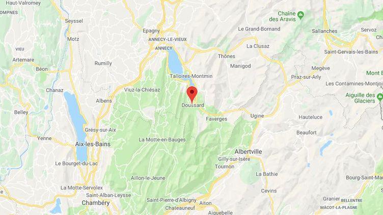 Doussard (Haute-Savoie). (GOOGLE MAPS / FRANCEINFO)