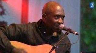 Roland Tchakounté au Cahors blues festival  (Culturebox)
