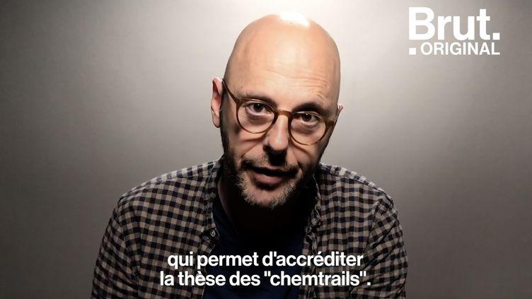 VIDEO. La rumeur des «chemtrails» décryptée par Thomas Snégaroff  (BRUT)