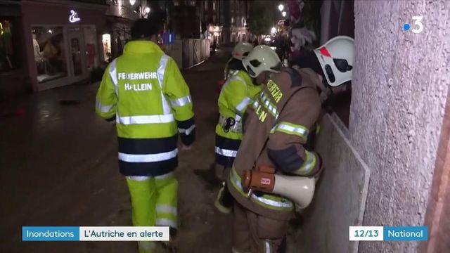 Inondations : l'Autriche en alerte, des régions inondées