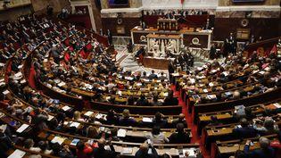 Les députés assistent à une séance de questions au gouvernement, le 26 juillet 2017, à l'Assemblée nationale, à Paris. (ERIC DESSONS/JDD/SIPA)