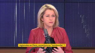 Barbara Pompili, ministre de la Transition écologique, était l'invitée de franceinfo vendredi 7 mai 2021. (FRANCEINFO / RADIO FRANCE)
