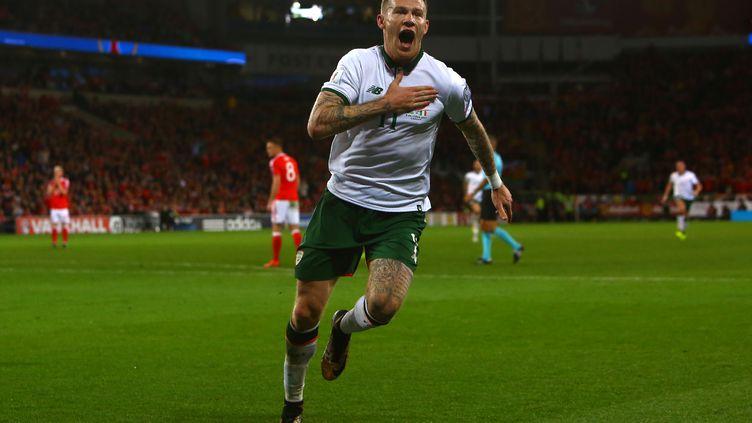 James McLean envoie l'Irlande en barrages (GEOFF CADDICK / AFP)