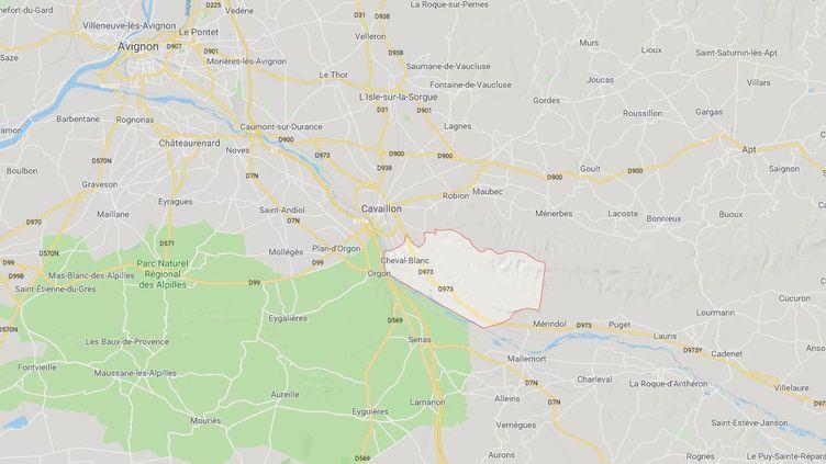 Une femme de 47 ans a été aspergée d'essence par son compagnon qui a tenté de l'immoler par le feu, samedi 15 juin, à Cheval-Blanc (Vaucluse). (GOOGLE MAPS)