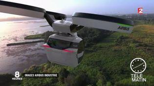 La voiture-drone, le véhicule du futur. (FRANCE 2)