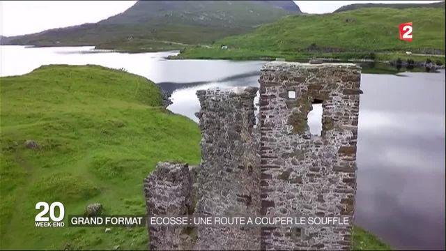 Grand format : une route à couper le souffle en Écosse