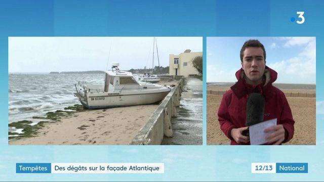Tempête Amélie : la Charente-Maritime reste en vigilance orange