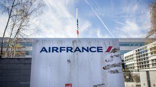 Le siège de la compagnie aérienne Air France au Roissy Pôle, à Tremblay-en-France (Seine-Saint-Denis). (MAXPPP)