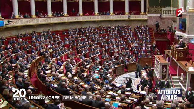 Attentats de Paris : la politique reprend ses droits et signe la fin de l'union nationale