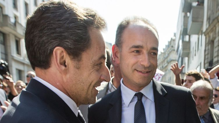 (Nicolas Sarkozy et Jean-François Copé ici en juillet 2013 (illustration) © MaxPPP)