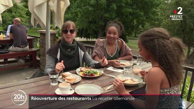 Déconfinement : en Allemagne, les restaurants ont retrouvé leurs clients