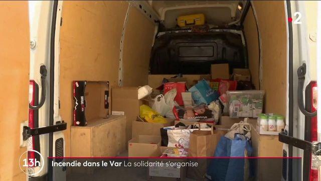 Var : les habitants se mobilisent pour aider les sinistrés