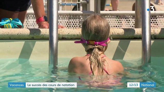Vacances : à nouveau, l'essor des cours de natation