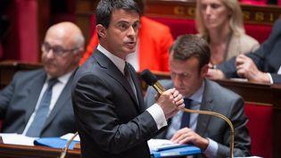 Manuel Valls, à l'Assemblée nationale, le 9 juin 2015. (MAXPPP)