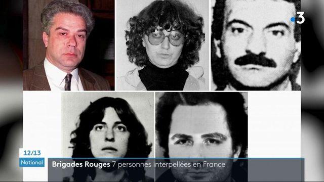 Terrorisme : sept membres des Brigades rouges italiennes arrêtés en France