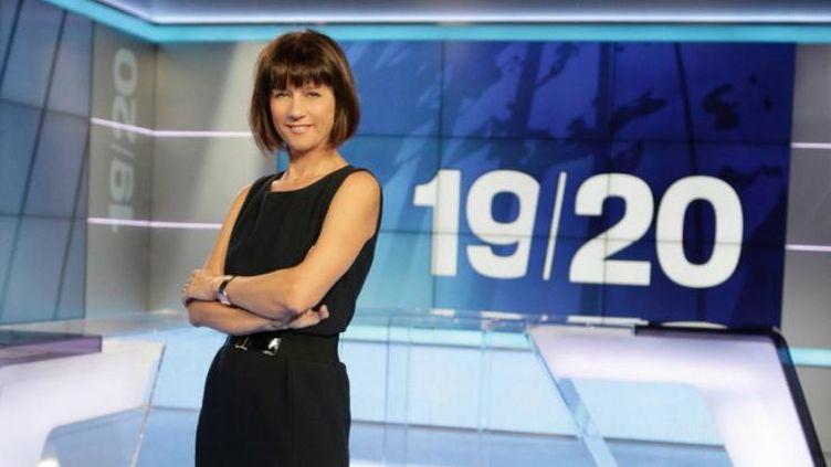"""(Carole Gaessler, nouvelle animatrice de """"Des racines et des ailes"""", continue à présenter le 19/20 © France Télévisions)"""