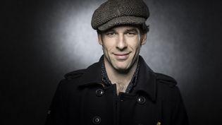 L'auteur de BD espagnol Jordi Lafebre en 2018. (JOEL SAGET / AFP)