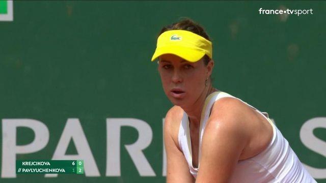 Finale dames : le réveil de Pavlyuchenkova