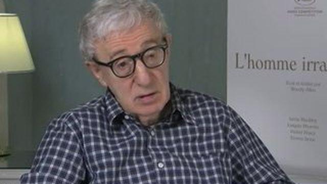"""Festival de Cannes : Woody Allen présente """"L'Homme irrationnel"""""""