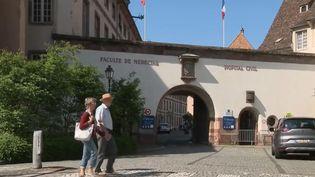 L'hôpital de Strasbourg (Bas-Rhin). (FRANCE 2)