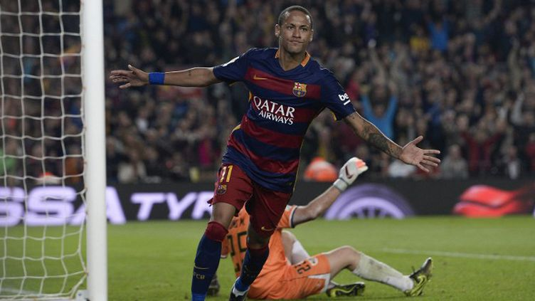 Neymar, le Brésilien du Barça (JOSEP LAGO / AFP)