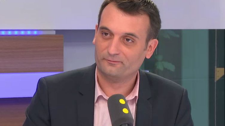 Florian Phlippot, vice-président du FN, invité de franceinfo le 21 juin 2017 (RADIO FRANCE / FRANCEINFO)
