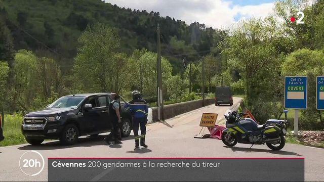 Gard : deux hommes tués par balles, 200 gendarmes à la recherche du tireur en fuite
