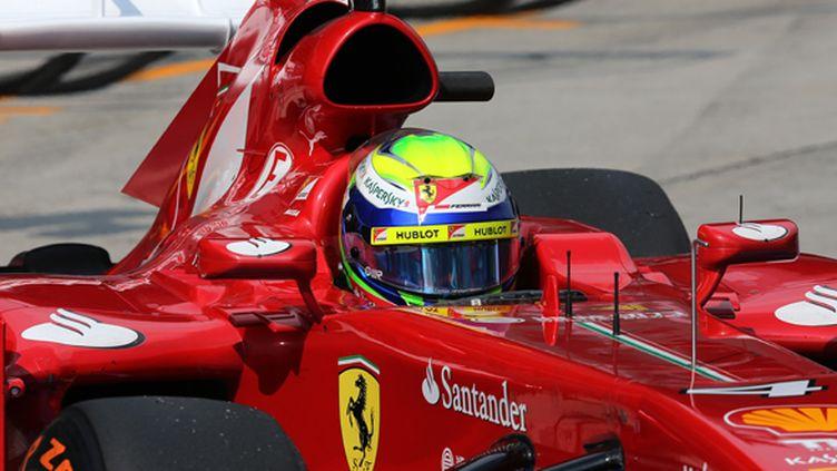 Felipe Massa, le pilote de la Scuderia