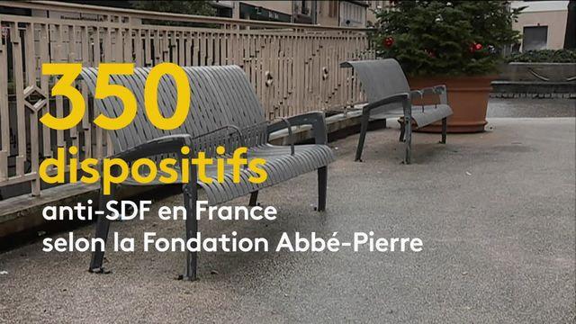 Quand la Fondation Abbé-Pierre pointe ironiquement les dispositifs urbains anti-SDF