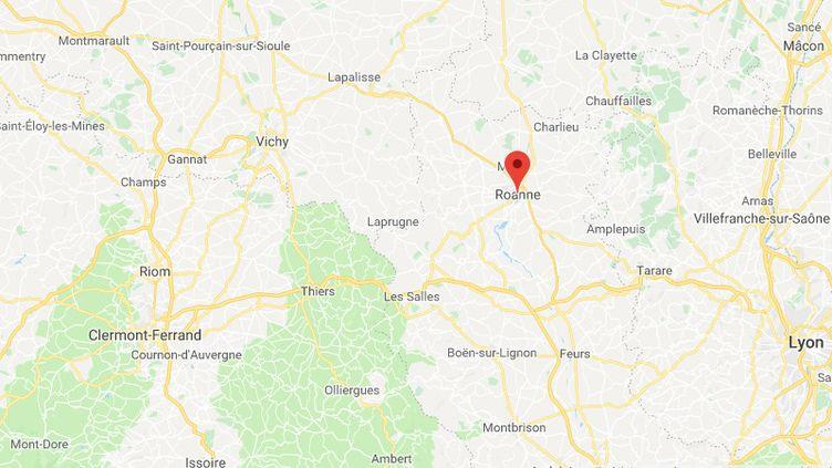 LaVille de Roanne, propriétaire du bâtiment tagué,a également porté plainte. (GOOGLE MAPS)